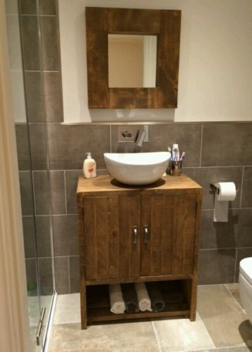 Rustic Bathroom Under Sink Cabinet Bespoke Rustic Furniture